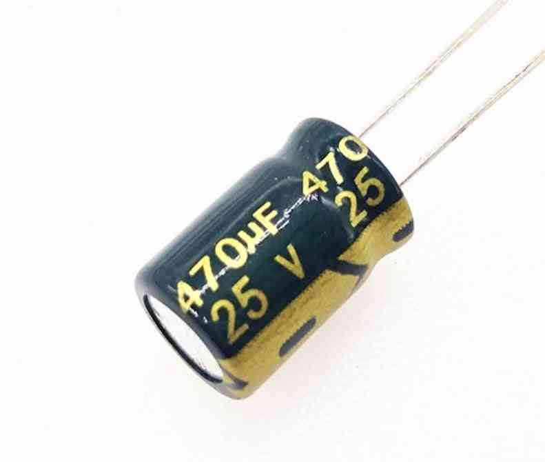 Low Esr Impedance & High Frequency, Aluminum Electrolytic Capacitor
