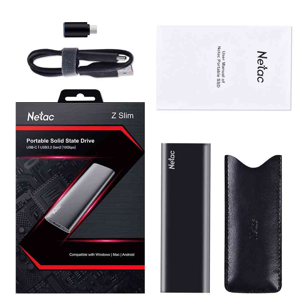 3.1 Type C Solid State Ssd External Portable Usb Hard Drive