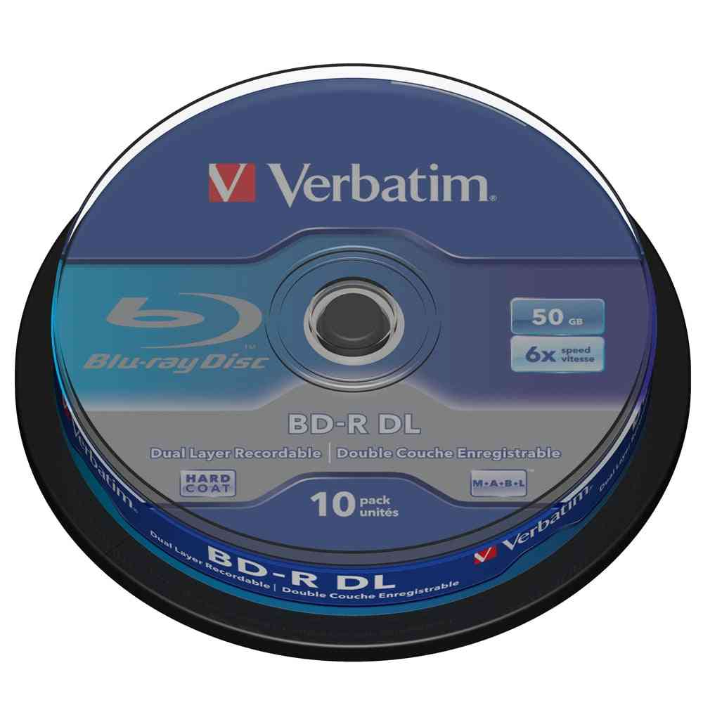 50gb 6x Blu-ray Dual Layer Recordable Media  Disk