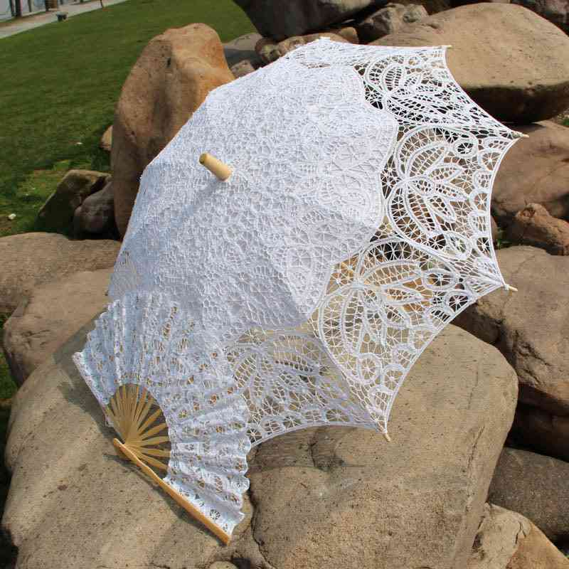 Steampunk/ Southern, Belle Costumes, Party Decoration, Lace Umbrella