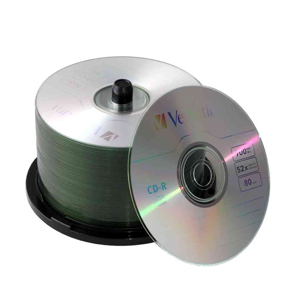 700mb/80min- Cd-r Recordable, Media Disc, Spindle Compact Write