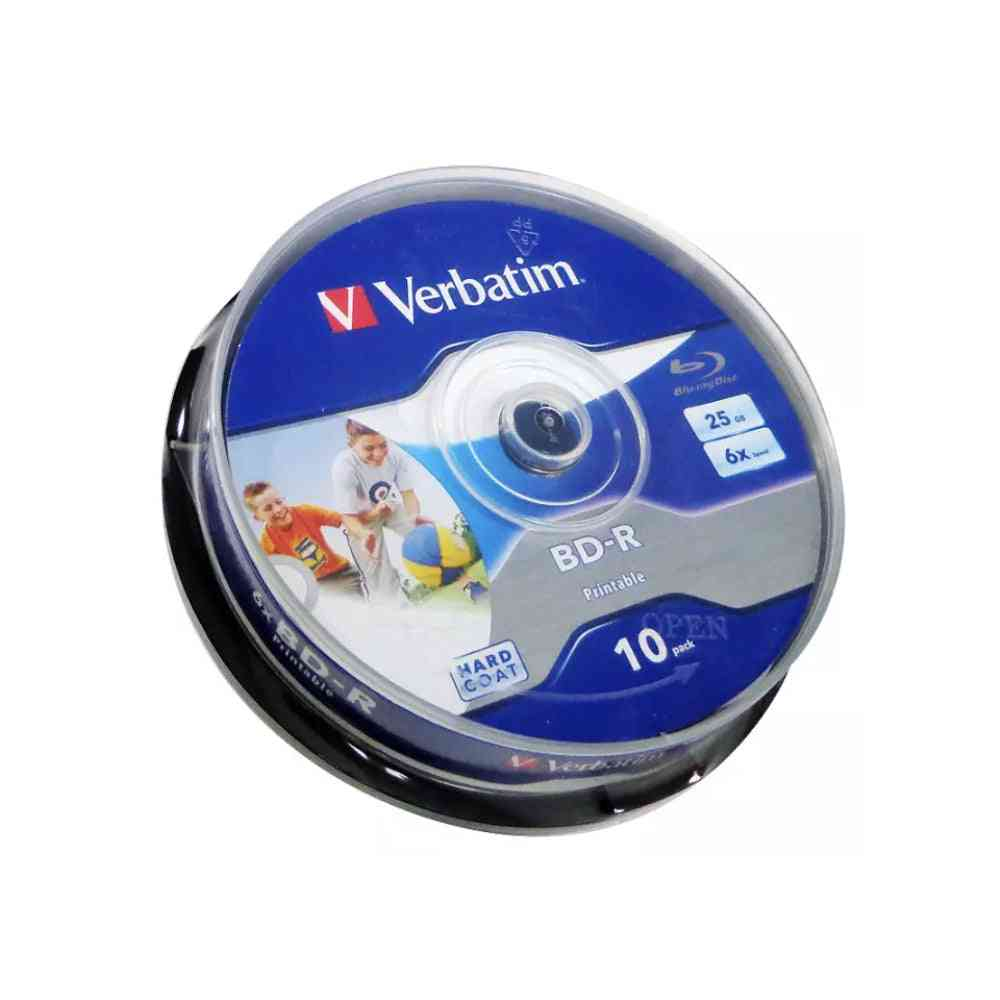 25gb Blank Disc, Recordable Media, Unprintable Disk Compact Storage, Blu Ray Player