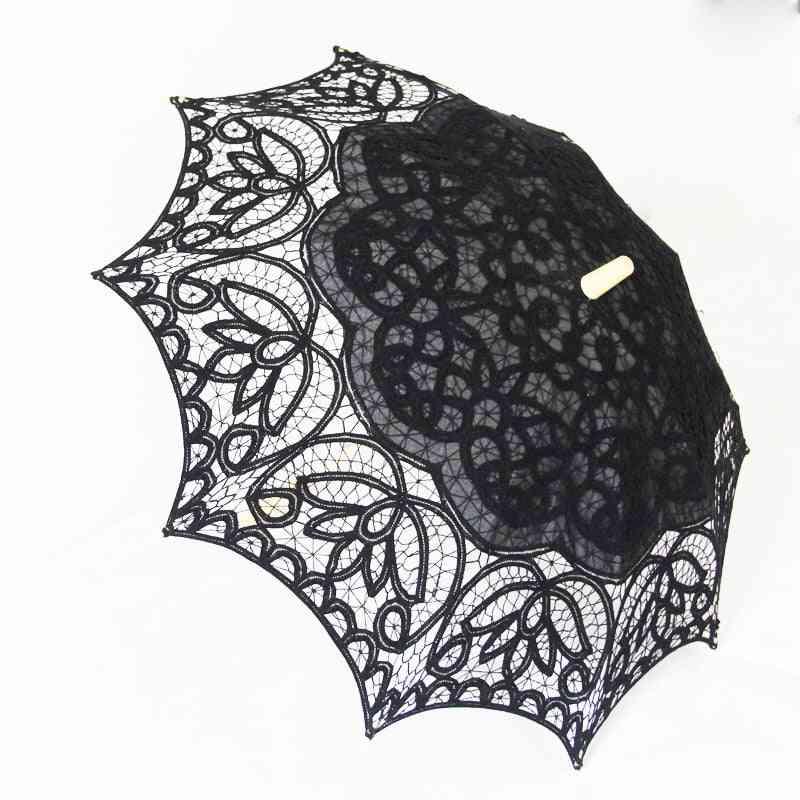 Fashion Lace Sun 10-parasol, Bride Umbrella