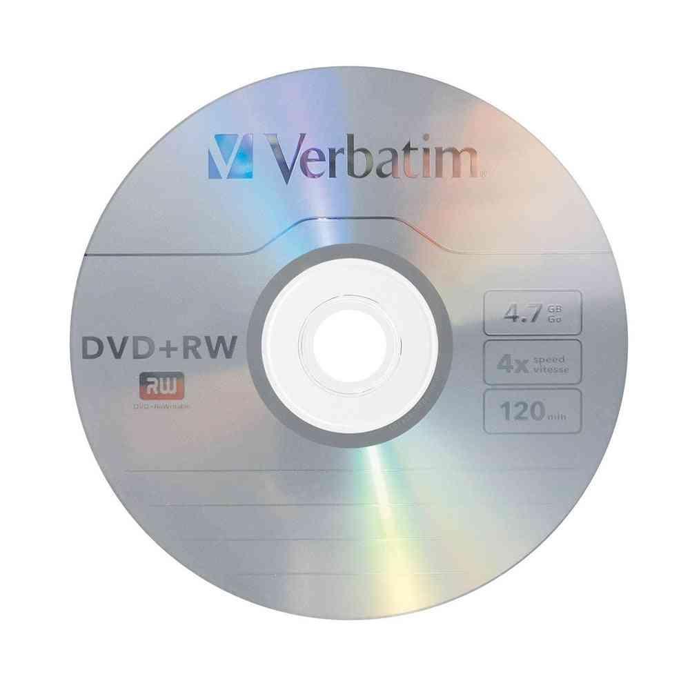 4x 4.7gb Dvd Rw Blank Disc