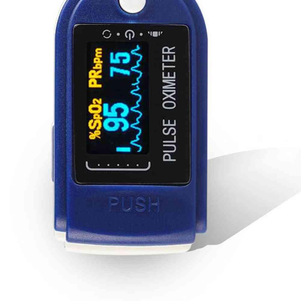 Portable Multiplication Digital Finger Blood Oxygen, Heart Rate Pulse Oximeter