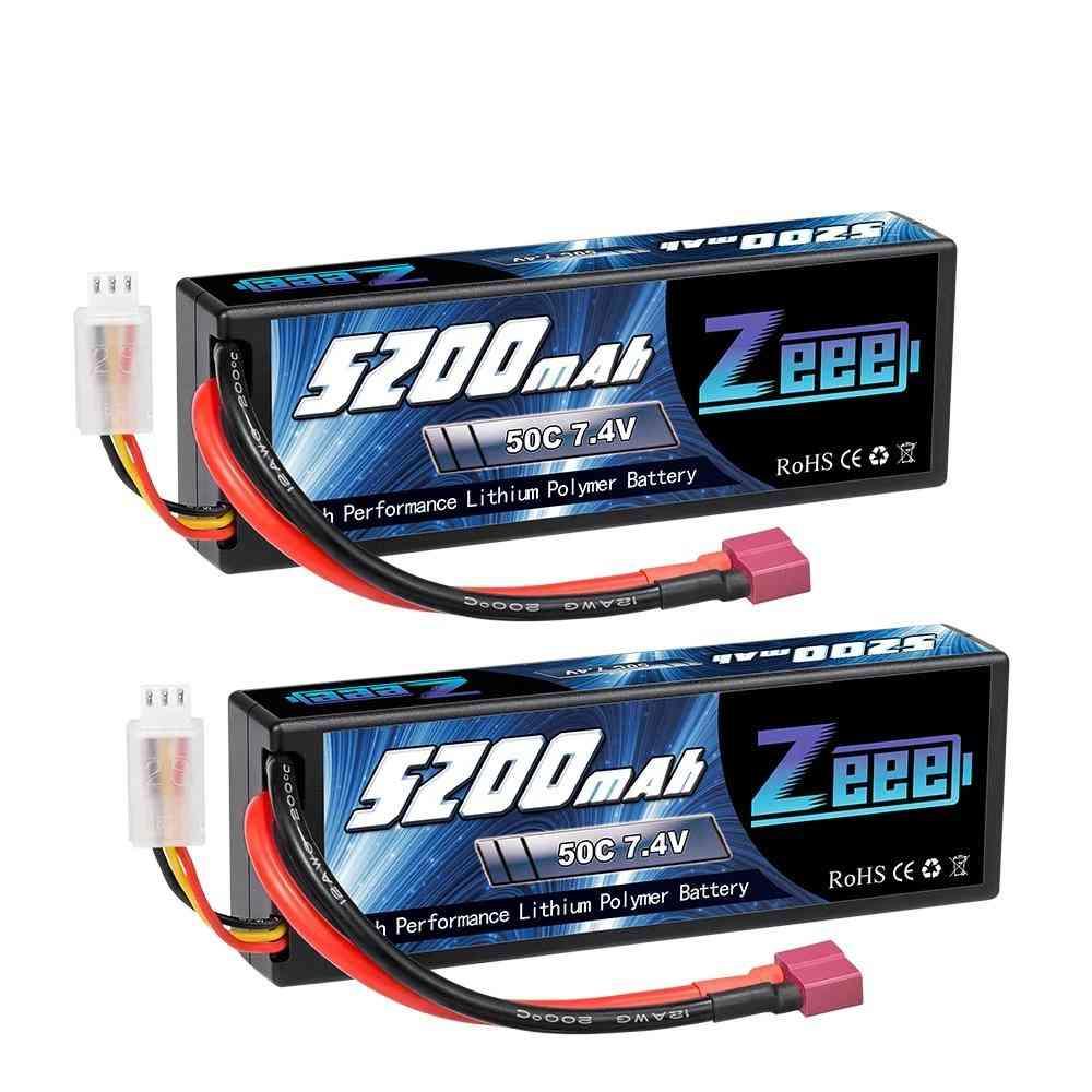 2-units, Lipo Batteries For Rc Car With Deans Plug (deans Plug)