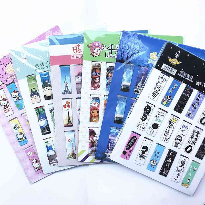 Magnetic Bookmarks For Books