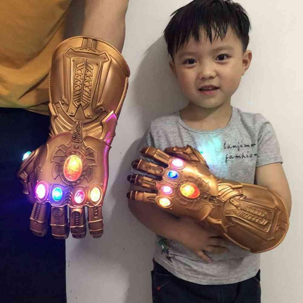 Thanos Infinity Gauntlet, Superhero Cosplay, Carnival Costume Light Glove