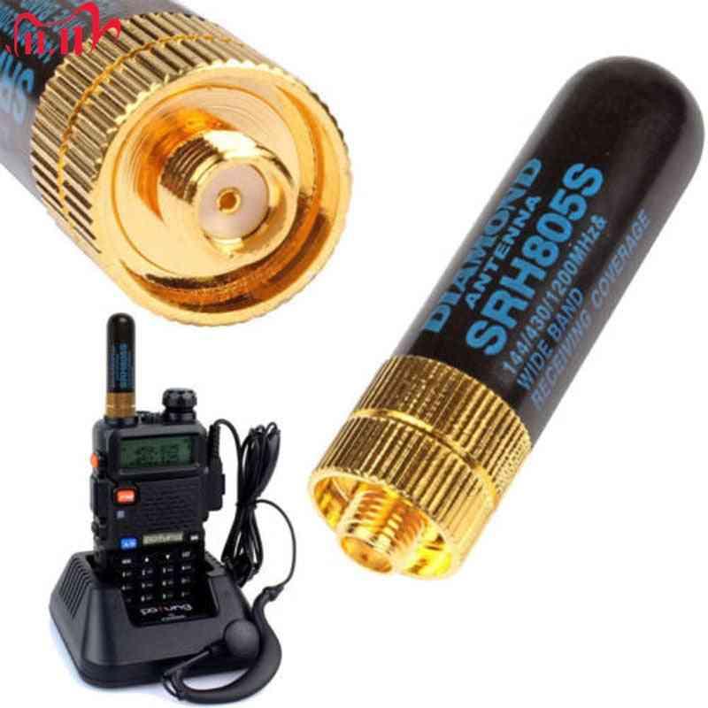 Dual Band Female Antenna Uhf+vhf Srh805s, Walkie Talkie Radio