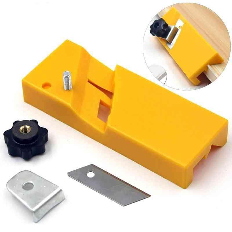 Gypsum Board Planer, Flat Square Plane, Edge Chamfer Hand Saw Box, Plasterboard Carpenter Tool