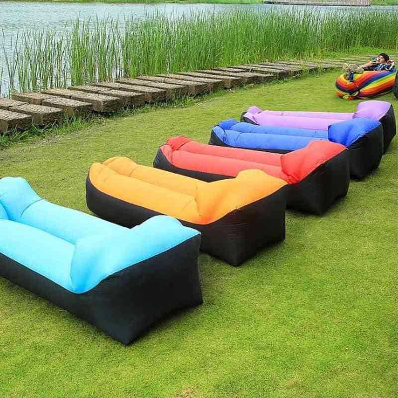 Portable Air Sofa, Sleeping Bed Bag For Outdoor Beach