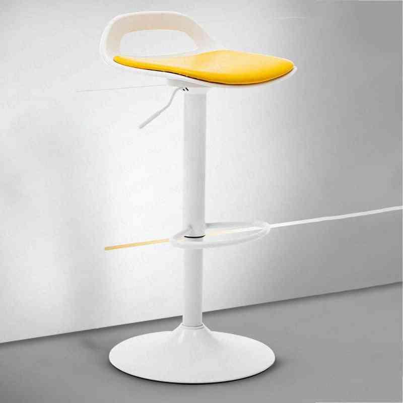 Bar Chair, Lift Front Desk, Modern Minimalist, High Stool