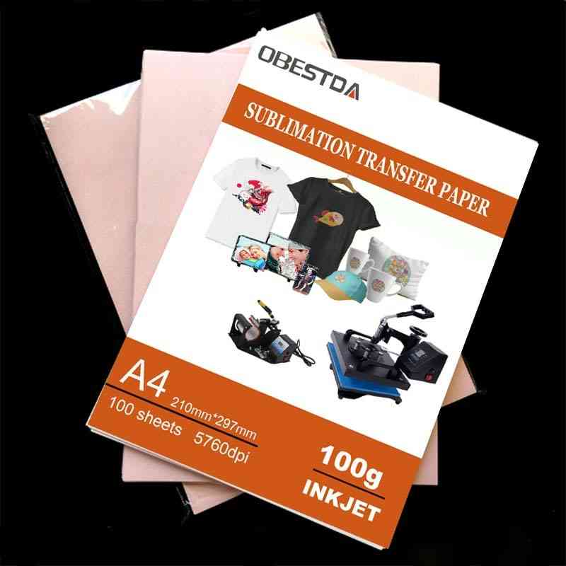 Inkjet Printing, Sublimation Heat Transfer, Photo Paper