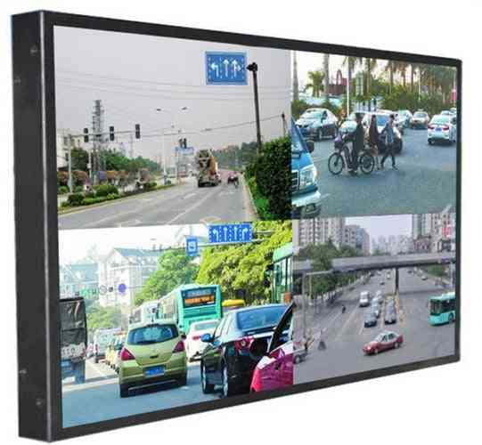 Led Lcd Tft Hd 4k Touch Interactive Digital Monitor With Pc Ip Camera