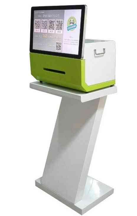 Wechat Signage Kiosk Totem Presenter With Printer