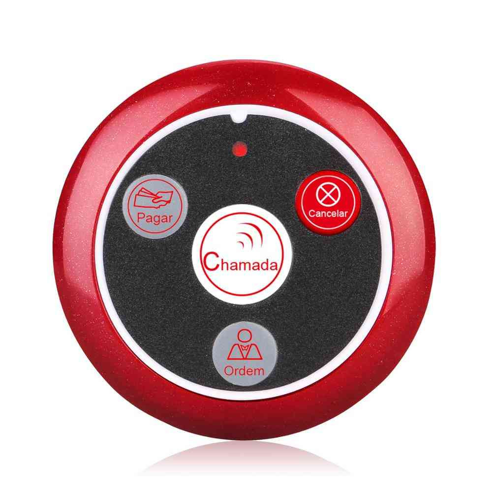 Call Button Pager Restaurant Pager Wireless Waiter Calling System