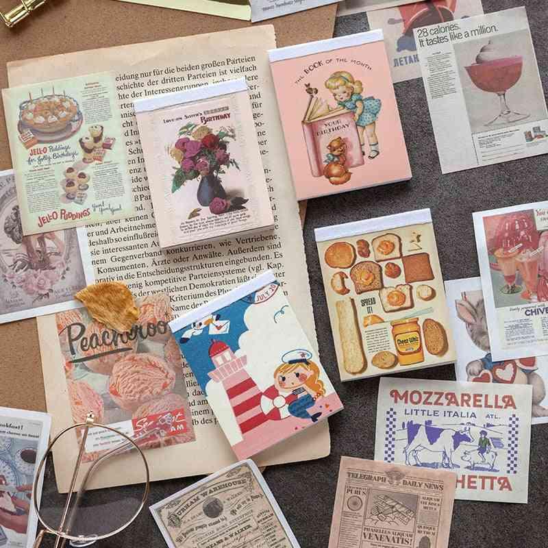 Book Paper Kraft Card