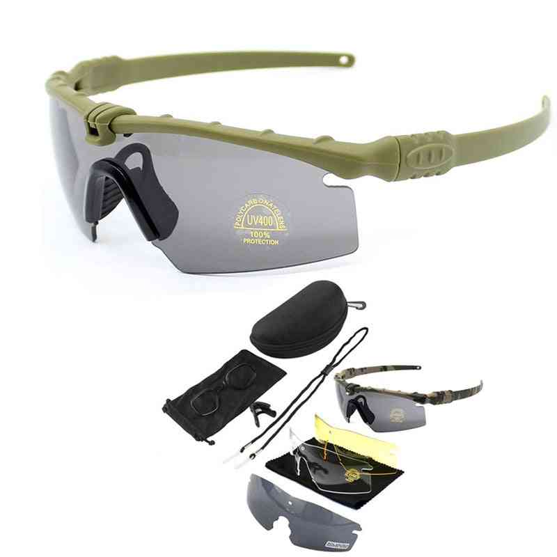 Exellent Quality Tactical Polarized Glasses, Army Goggle
