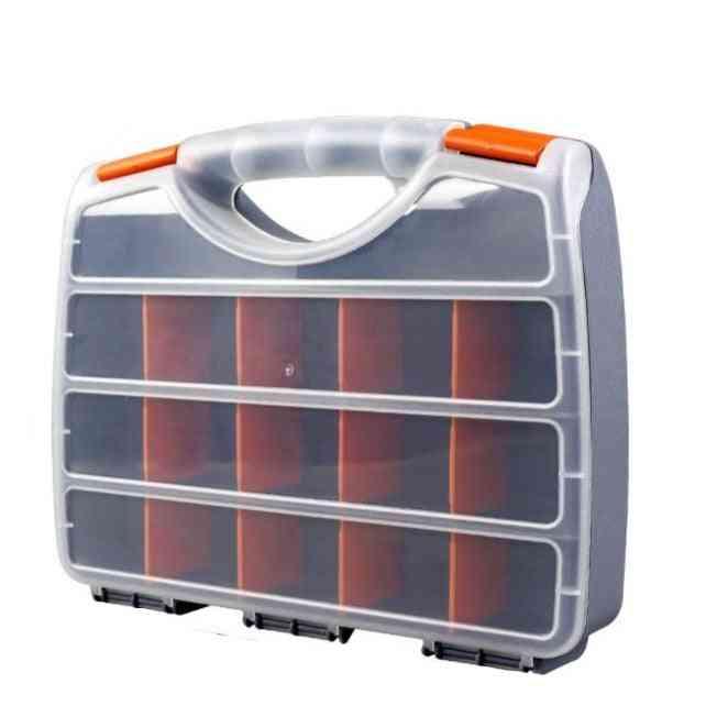 Abs Plastic Portable Parts Screw Storage Box