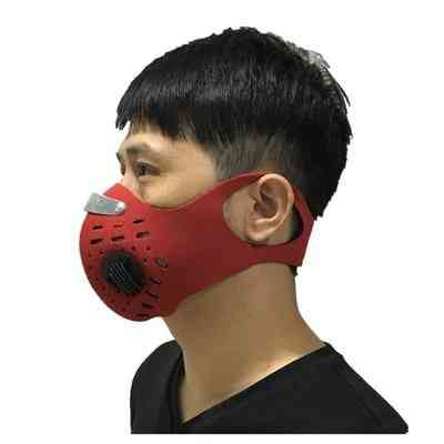 Anti-dust, Activated Carbon, Cycling Half Face Mask
