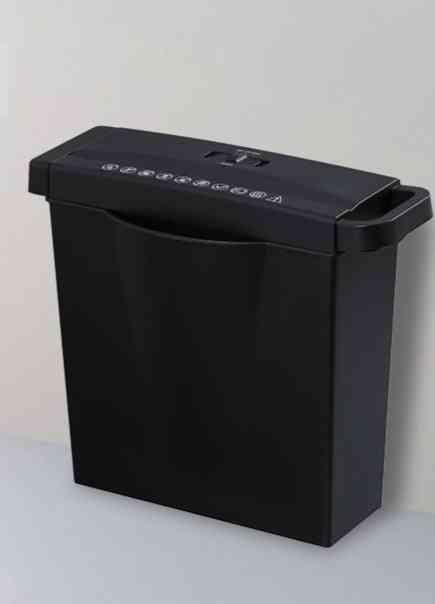 Mini Portable- Electricity A4 Paper Shredder, Desktop File Paper, Cutter Machine