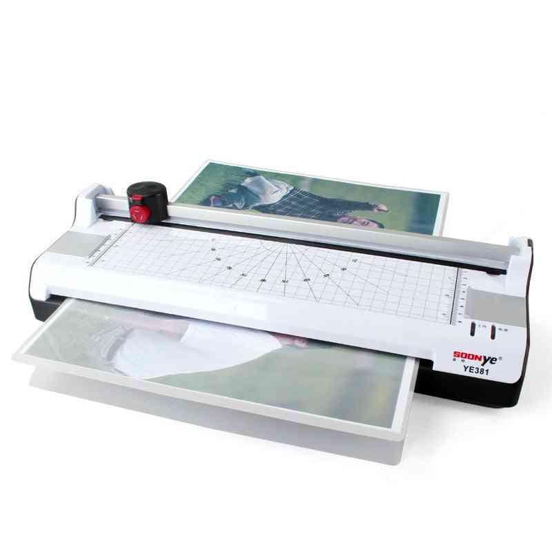 A3- Photo Paper Hot & Cold Thermal Laminator Machine
