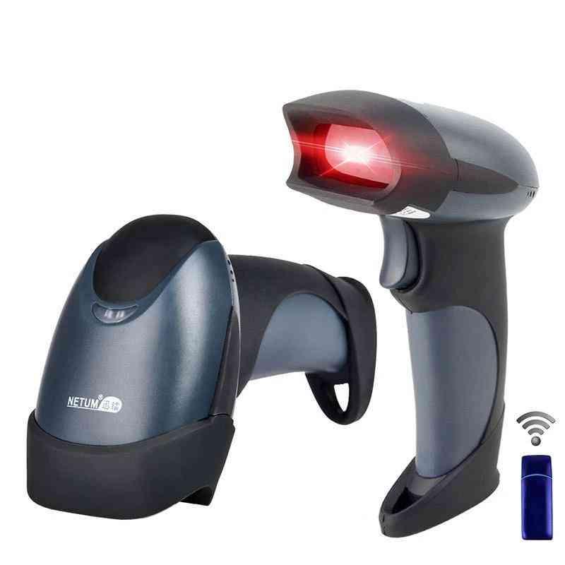 Portable Laser Wireless Barcode Scanner