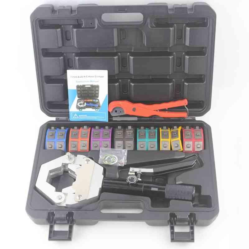 Hydraulic Ac Hose Crimper, Hydra-krimp, Manual Kit Air Conditioning, Repaire Crimping Tool