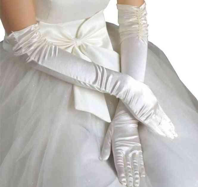 Long Beaded Gloves