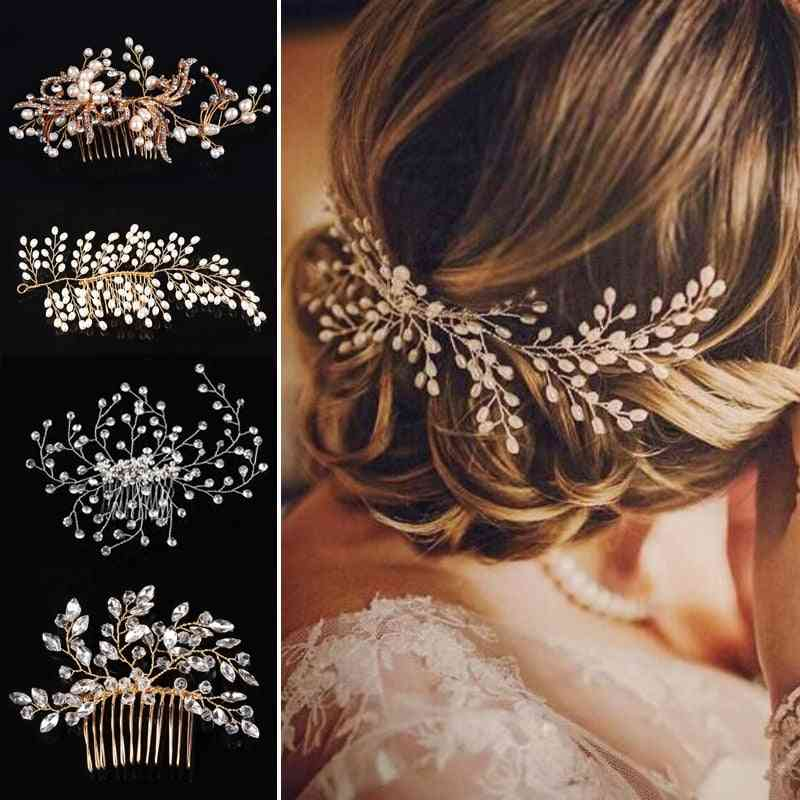 Western Fashion Headdress For Bride