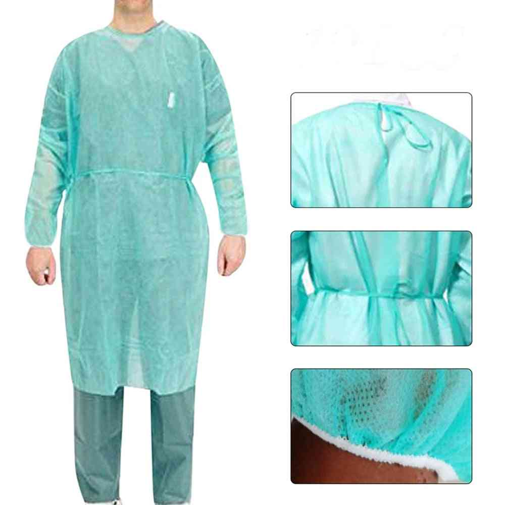 Disposable Protective, Isolation Anti-spitting, Waterproof Stain Nursing, Gown Suit