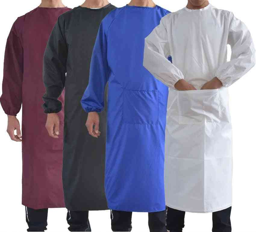 Waterproof Oil-resistant, Full-cover Suit, Butcher Fisher Apron