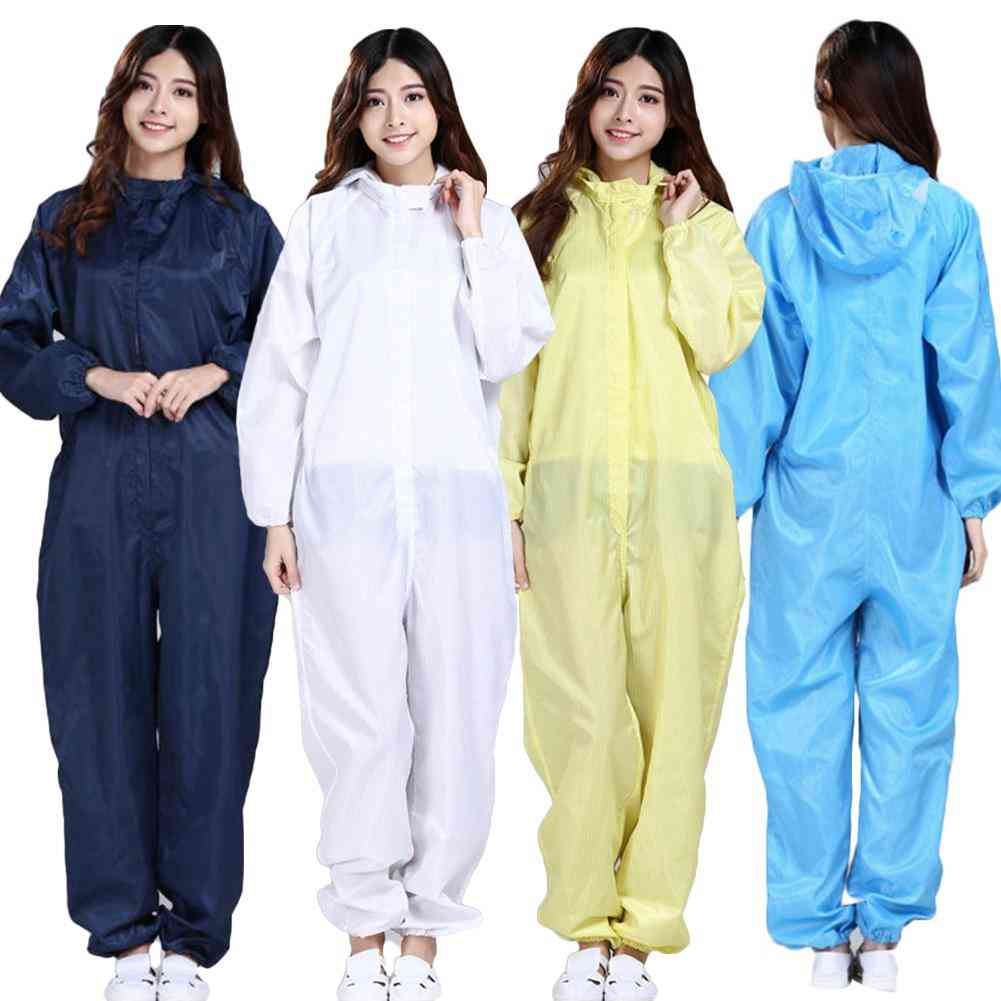 Waterproof Oil-resistant Full Cover Apron Suits, Work Safety Reusable Coverall