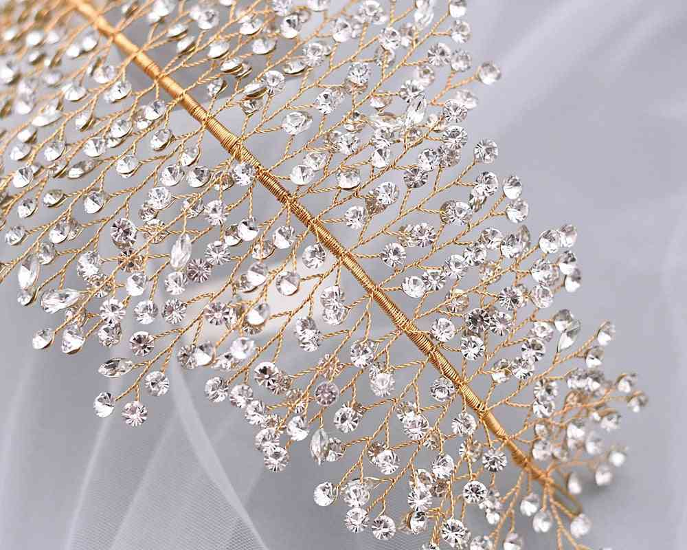 Crystal Rhinestone, Tiaras Crowns, Bridal Hair Piece, Prom Pageant Accessory