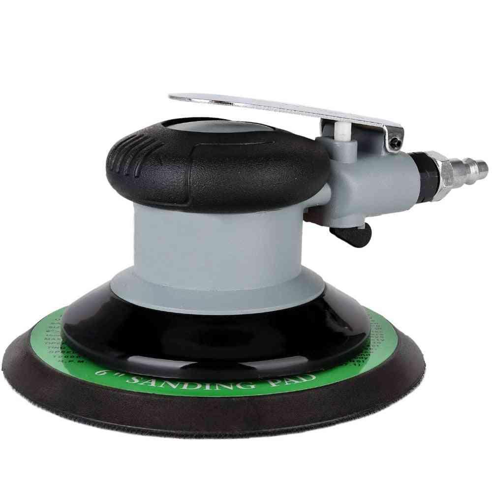 Air Random Orbital Palm Sander, Eccentricity Dual Action Pneumatic Pro Grinding Sanding Tools