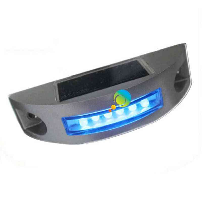 Flash Mode Semicircle Road Reflector Led Solar Power Aluminum Light