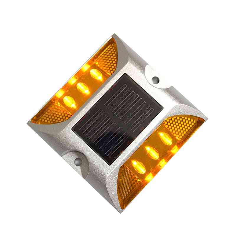 Ip68 Pathway Led Solar Power Lights, Waterproof Outdoor Driveway Road Stud Lamp