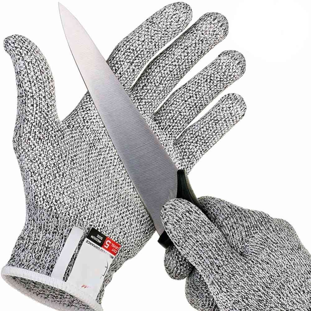Food Grade Cut-proof Outdoor Camping Protective Gloves