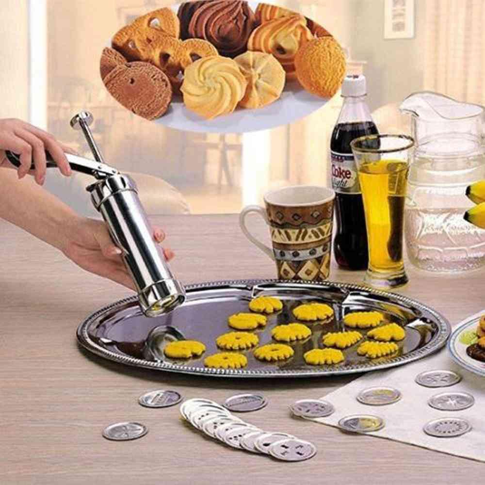Sweet Treats Cookies Press-cutter Baking Tools, Biscuits Press Machine