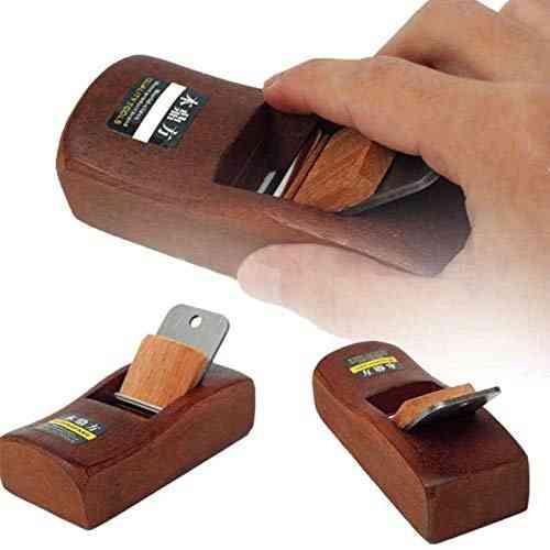 Mini Flat Wooden Hand Planer, Carpenter Woodcraft Trimming Planing Tool