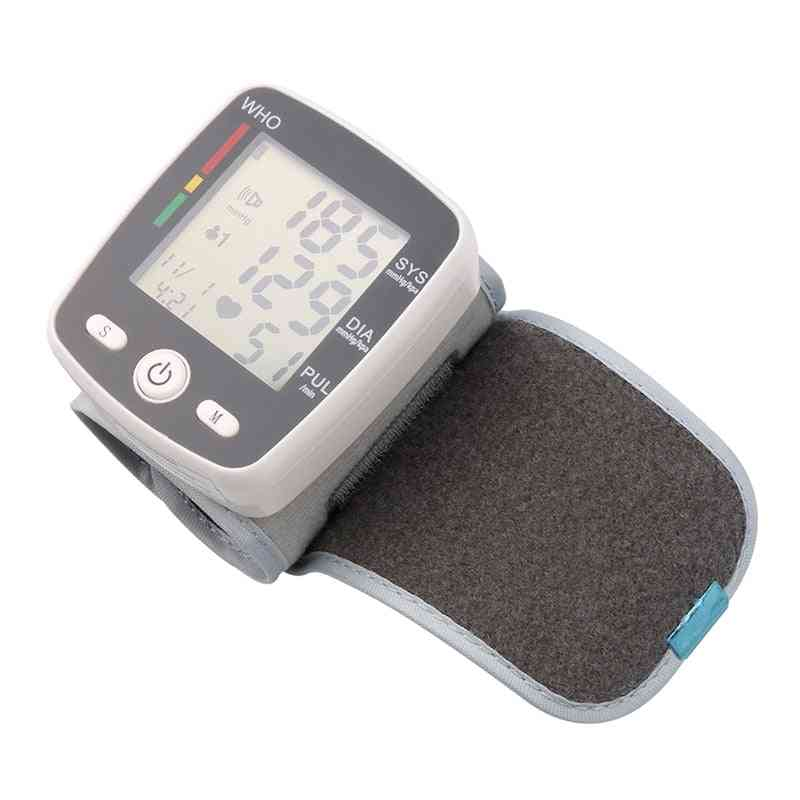 Electric Rechargeable Health Care Tensiometer Digital Blood Pressure Monitor