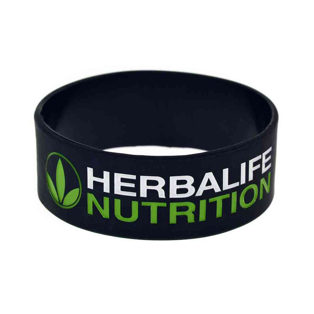 Healthy Active Lifestyle Silicone Wristband