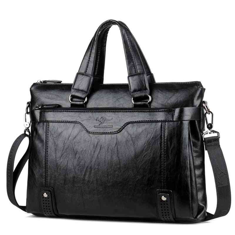 Cowhide Leather- Messenger & Shoulder Bags Briefcases