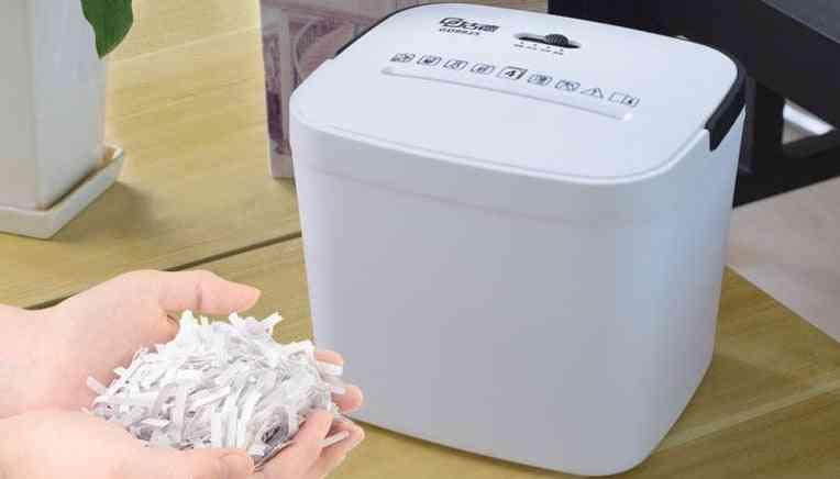 New Mini Portable File Shredder Crusher Destroyer Cutting Machine