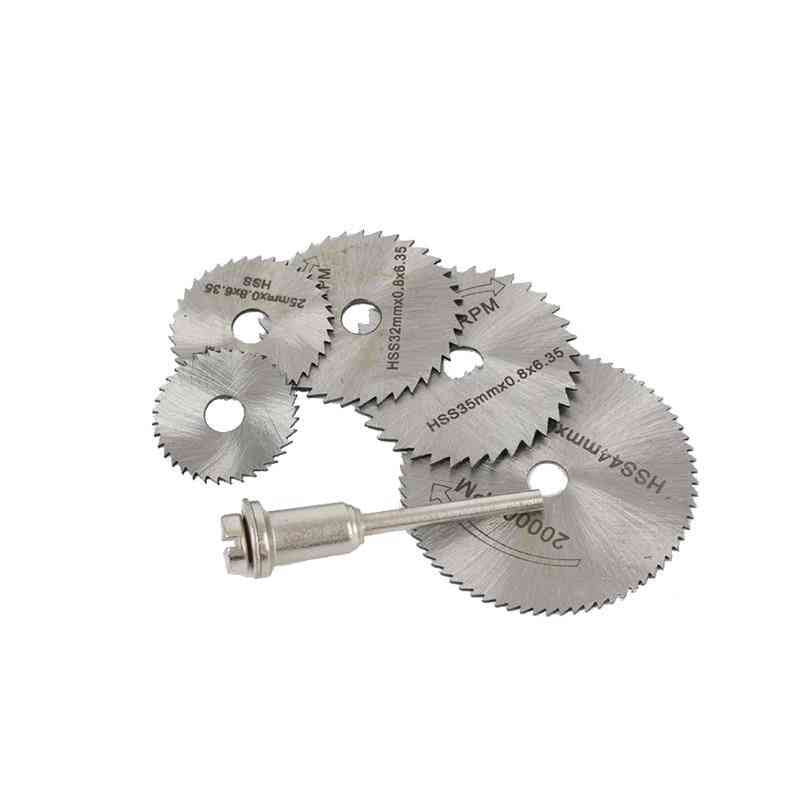 Hhs Cutting Disc Rotary Wheel Mandrel Rod For Dremel Tools Accessories