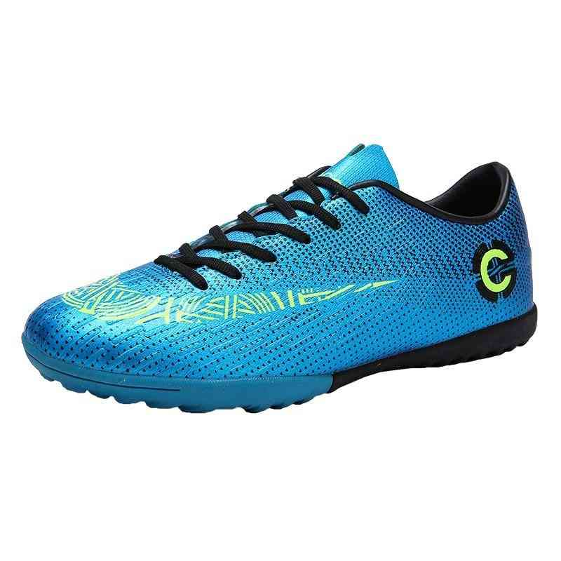 Outdoor Soccer Football Boots, High Ankle Cleats Training Sport Sneakers