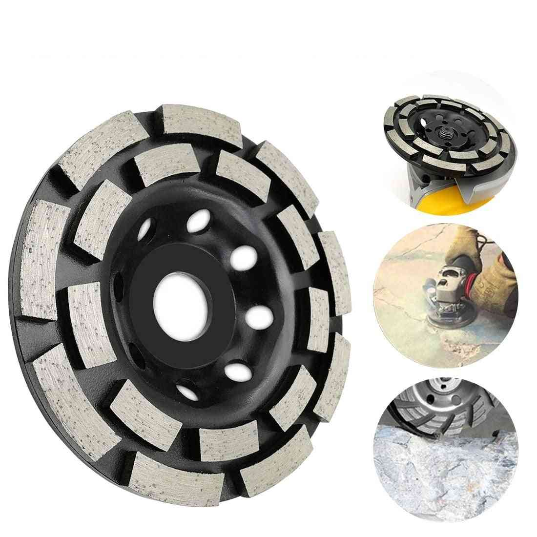 Diamond Grinding Disc Concrete Grinder Wheel Cutting Cup Saw Blade Tool