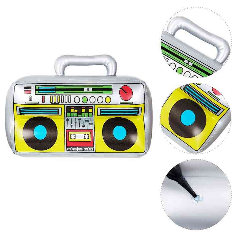Inflatable Radio Boom Box & Mobile Phone Props Pvc