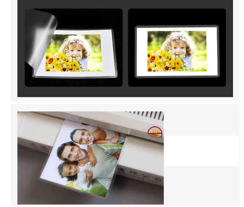 Sheet Eva Bond For Photo Roll Paper Laminating Film Photos Files Card Picture Lamination