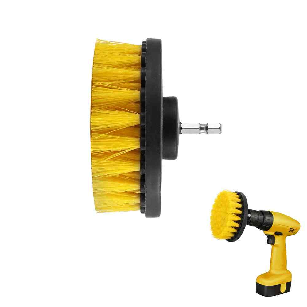 Power Drill Scrub, Clean Brush For Leather Plastic, Wooden Furniture, Car Interiors